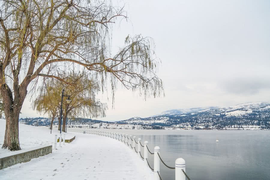 Moving in Winter Kelowna